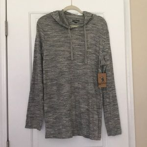Sunday work clothes gray pull over size L